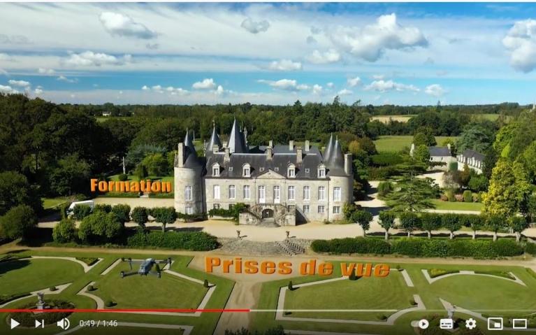 Référence Drone l'école du drone de Bretagne